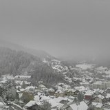 Snowfall in the Alps Oct. 23, 2014
