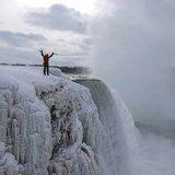 Will Gadd an den Niagarafällen