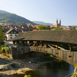 Forbach Holzbrücke