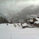 Fresh snow in Italy 20.12.16 - ©Bardonecchia webcam