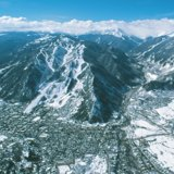 Aerial view of Aspen Mountain - ©David Perry