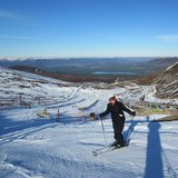 Snow day in Cairngorm, Scotland. Feb. 18, 2013