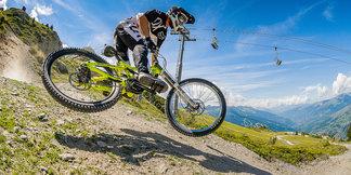 Bikepark Les Arcs/Peisey-Vallandry : Une référence dans le monde du VTT  - ©Andy Parant