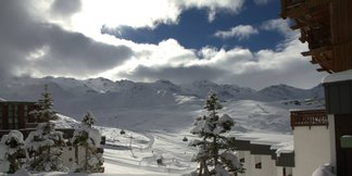 Neve fresca in Europa - Novembre 2014