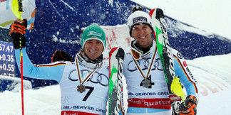 Krimi zum Abschluss der Ski-WM: Dopfer und Neureuther fahren zu Silber und Bronze - ©Audi Media-Service