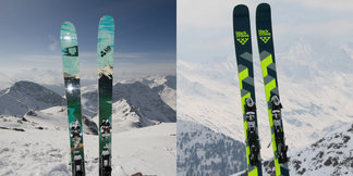 Zwei Freeride-Ski 2015/2016 im Test: Black Crows Atris vs. 4FRNT Kye 110