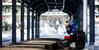 The Kart 6 - het ultieme ski- of snowboard transport
