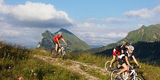 Mountainbiker im Bregenzerwald
