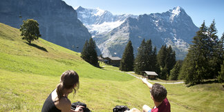 Wandern in Grindelwald - ©Jungfrau Region | Mattias Nutt