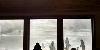 Terry Peak Ski Area - Too windy to ski. - ©kristakknapp