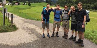 Alpencross extrem: Fünf Stadtkinder auf dem Weg über die Alpen - ©Frederik Kraft