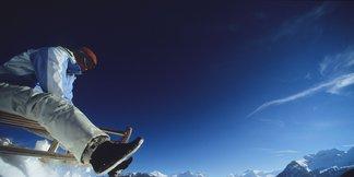 Met de slee door Graubünden
