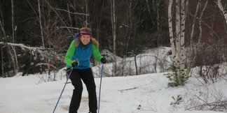 Learn to Cross-Country Ski Day - ©woman_nordic skiing Learn-to Package including trail access, rental equipment, and a one-hour class lesson for just $25!