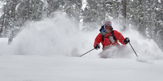 13 Inches of Powder Where the Desert Meets the Mountains!  - ©Ryan Heffernan