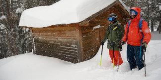 140cm de neige fraiche tombée à Grandvalira, en Andorre - ©Alex Gosteli