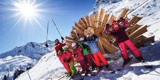Galtür: narciarska kraina przygód dla dzieci - ©Schischule Silvretta Galtür - Ronald Lorenz