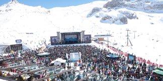 Goede sneeuwcondities en spectaculaire open air-concerten in Ischgl - ©TVB Paznaun – Ischgl