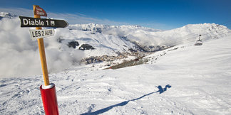 Du ski et des festivités aux 2 Alpes jusqu'au 29 avril - ©Office de Tourisme Les 2 Alpes / Yoann Pesin