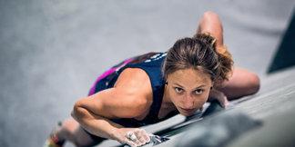 Monika Retschy und David Firnenburg sind die neuen Deutschen Meister im Bouldern - ©DAV / Thomas Schermer