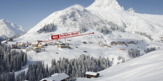 Novinka zimy 2017/18: Lanovka Dorfbahn Warth v Ski Arlberg - ©Warth-Schröcken