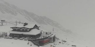 Gallery: First snow for the Alps Sept. 13, 2017 - ©Soelden/Facebook