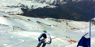 U.S. Ski Team Athlete Travis Ganong Training in Chile   - ©Photo by Daron Rahlves.