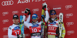 Bormio : Deux vainqueurs en descente - ©Agence Zoom