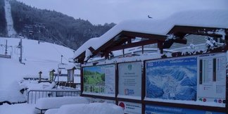Dnes na horách: 10-35 cm nového prašanu  - ©FB Park Snow Donovaly