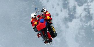 Pas på ryggen på ski - ©Luca Bruno / AP