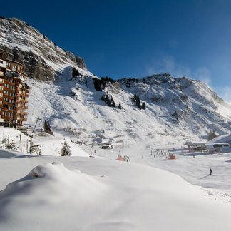Open ski resorts in the Alps Dec. 12, 2014