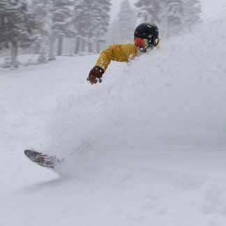 Storm Gallery: Northstar California snowstorm Feb. 28, 2015