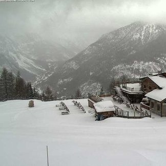 Fresh snow in Italy 20.12.16 - ©Bardonecchia webcam