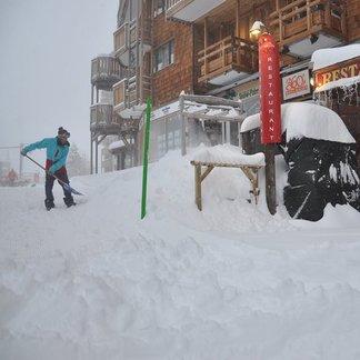 Grande nevicata sulle Alpi 14.1.17 - ©Avoriaz/Facebook