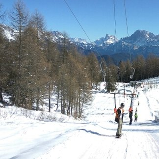 San Pellegrino - Falcade - ski lift labuse - ©iFotoStudio.pl