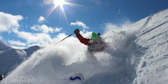 Snow Falling, Ski Season Nearing