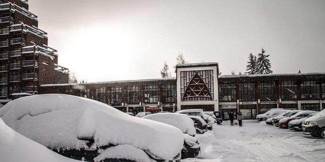 13.01.17: Sturmtief Egon bringt Schnee in die Alpen - ©Les Arcs/Facebook