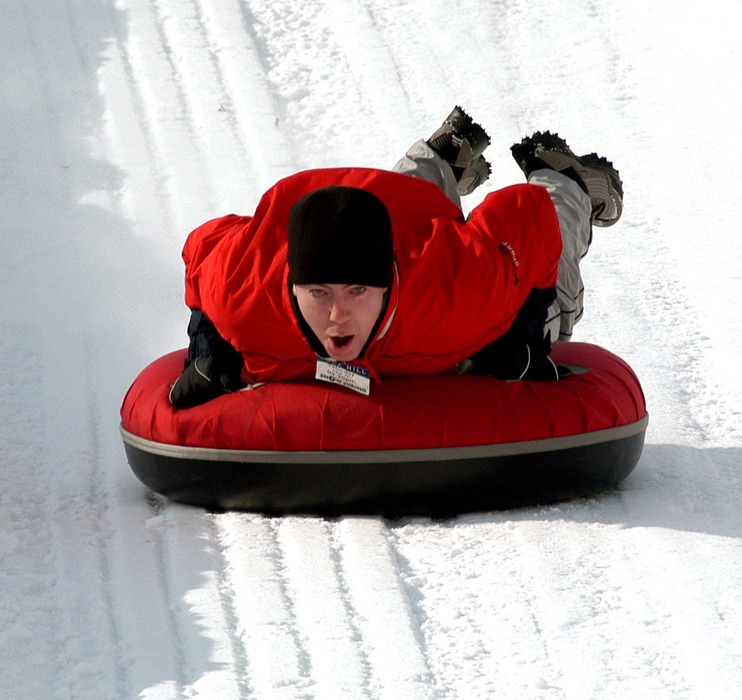 Buck Hill is a popular tubing spot with Twin City snow lovers.