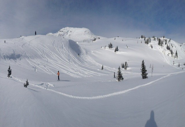 Awesome day, wicked snow