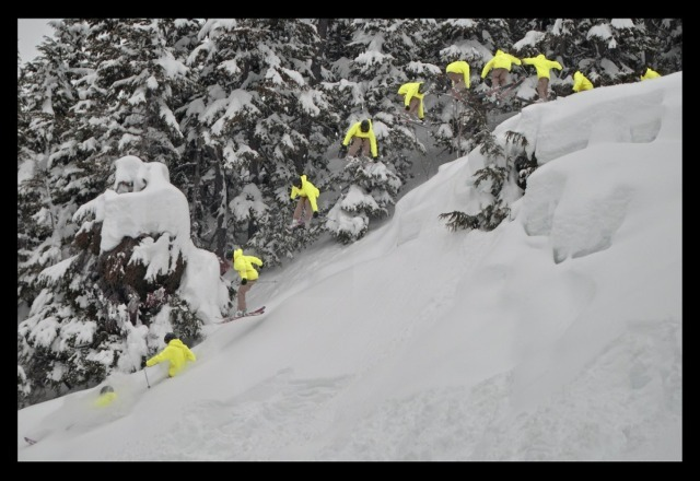 Shred city! #powpow