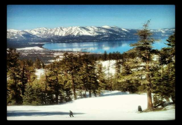 Great slopes, gets crowded in afternoon. Very warm. Snow turns to slush after lunch. Can't beat the beauty though