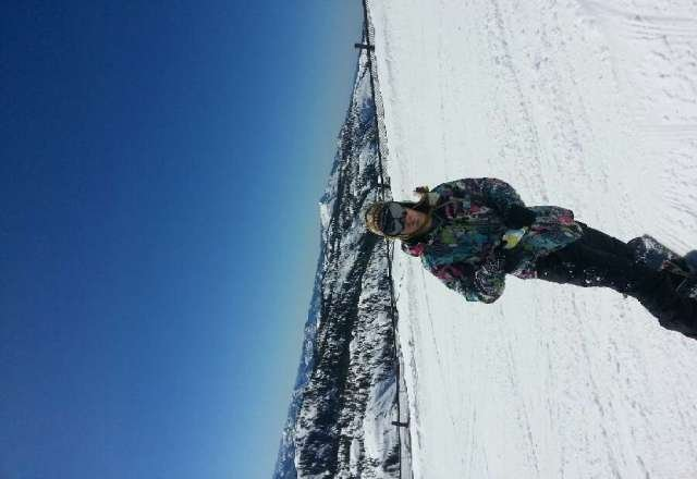 spring skiing as temperatures warm and snow softens up!
