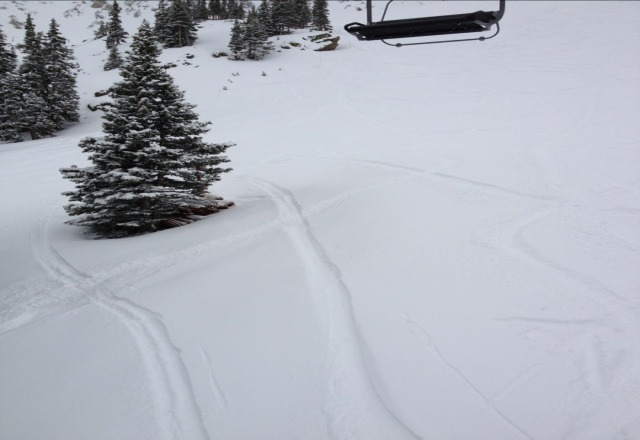 From Thursday... wasnt expecting fresh snow!