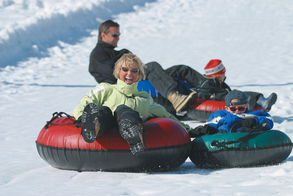 Tubing in Park City, Utah