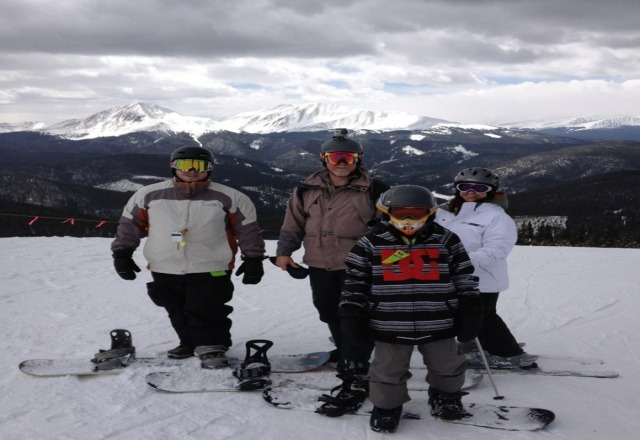 great day at keystone .snow was great . the veiw even better!
