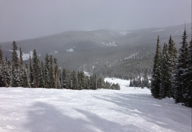 It was a great day skiing on Friday. The snow was great, powder to packed powder. Plus it snowed a little during the day.