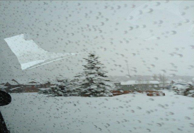 so much snow