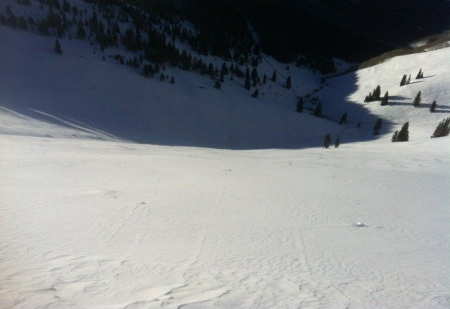 first run at 8:45 in the bowls untouched
