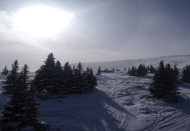 awesome day skiing