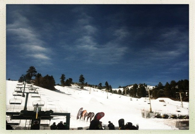 not BAD but not great, wait till snow softens a bit and hit the park till it gets too soft and slow 10a-1p window... pic from sunday