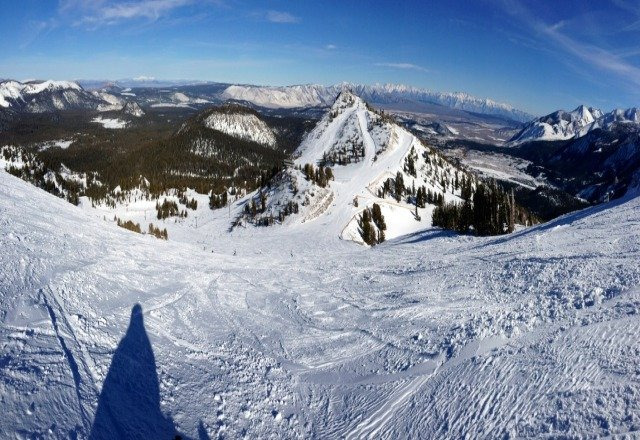 Bluebird day! Get up here!